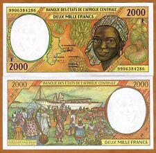 Central African Republic, States, 2000 Francs, 1999, P-303Ff, UNC