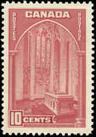 1938 Mint H Canada VF 10c Scott #241 Pictorial Issue Stamp