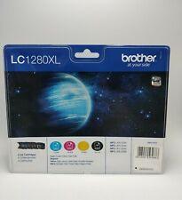 Brother LC-1280XL Multi Inkjet Cartridges, Multi 4 Ink