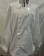 Chef Works - Men's Le Mans Basic Chef Coat White - Never Worn Size M - 100% Poly