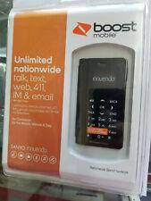 New Sanyo Innunendo SCP-6780 Black Boost Mobile Prepaid Flip Up Cellular Phone