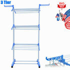 Clothes Drying Rack Laundry Dryer Folding Indoor Hanger Portable Heavy Duty Tier