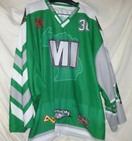 GOALIE 2014 Michigan State Wars United States Roller Hockey Championship Jersey