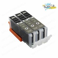 3PK CLI-251XL Grey Color Ink For Canon Pixma iP8720 MG6320 MG7120 MG7520 W/ GRAY