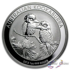 2013 Perth Mint Australia 1 oz Silver Kookaburra in Original Mint Capsule
