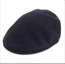 Kangol 504 Pure New Wool Navy Driving Hat