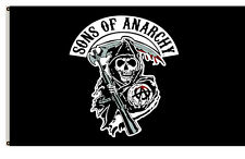 Sons Of Anarchy Black Flying Flag 3ft x 5ft