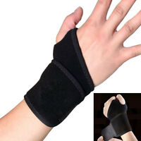 Carpal Tunnel Support Elastic Wrist Support Sport Brace Adjustable Forearm Guard