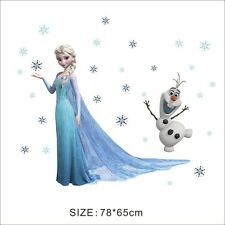 Wandtattoo Frozen Königin Elsa & Olaf