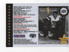 CANADA  Hockey stamps 2018  2086 2265 plus Terry Sawchuk trading card