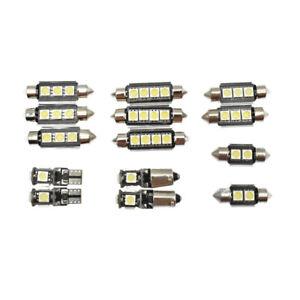 14 PCS White Interior LED Light Kit for Volkswagen Passat B6 06-10