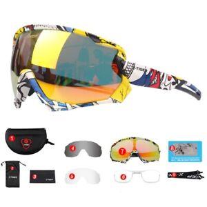 Cycling Glasses Polarized Photochromic Bike Sunglasses Bicycle Goggles Eyewear