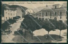 Salerno Giffoni Valle Piana PIEGA cartolina XB3538