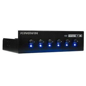 Kingwin Hard Drive Power Switch Module for 2.5 inch/3.5 inch SATA HDD/SSD.