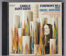 CAMILLE SAINT-SAENS - SYMPHONY NO.3 ORGEL SINFONIE CD © 1985/ PRESSED IN JAPAN
