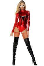 Red Web Spinner Spider Romper Costume