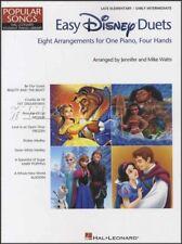 Popular Songs Easy Disney Duets Piano Sheet Music Book Elementry Intermediate