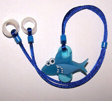 Children's Hearing Aid safety Leash RETAINER CORD CLIP for 2 H.A.'s ...SHARK