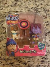 FISHER PRICE NEW MIKE THE KNIGHT  TROLLEE & YIP Y8359 2012 FREE SHIPPING