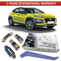 Hyundai KONA LED Interior Kit Premium 7 SMD Bulbs White Error Free