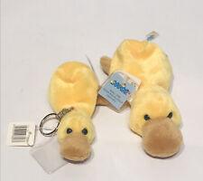 NICI Duck NICI Beanies 1998 Stuffed Toy & Keychain