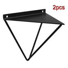 2x Heavy Duty Shelf Brackets for Hairpin Metal Prism Wall Mount Support !