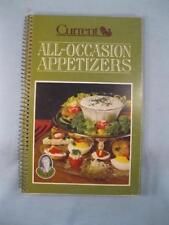 Miriam B Loos All Occasion Appetizers Vintage Cookbook Book Copyright 1982 (O2)