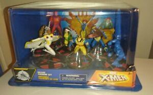 Disney Store Marvel X-Men Deluxe 9 piece Figurine Playset