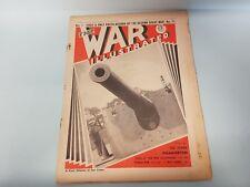 The War Illustrated No. 11 Vol 1 1939 BFF Maginot Coastal Guns Westwall Finland