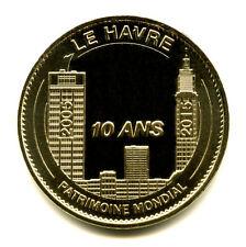 76 LE HAVRE Patrimoine mondial de l'Unesco, 10 ans, 2015, Monnaie de Paris