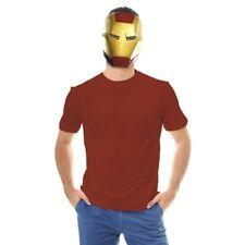 Iron Man Mask Ben Cooper Superhero Cosplay Movie Adult Cotume Marvel Halloween