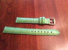Watchband Ladies, Genuine Alligator 🐊 Made USA, 13R, Ross-Simons, Green, NWOT