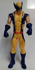 "X-MEN - Wolverine Logan 11"" Titan Hero Action Figure Toy Marvel Hasbro 2013 Toy"
