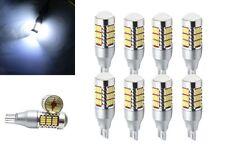 2pcs T15 W16W 4014 SMD 60 LED Ampoule Canbus Anti Erreur Reverse Lumière 12v/30W