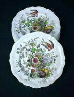Vtg Royal Doulton Set #4 HAMPSHIRE Bird & Floral Urn Salad Dessert Plates EVC A+