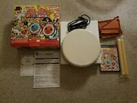 Taiko no Tatsujin Official Authentic Namco Drum Controller PS2 PlayStation 2 CIB