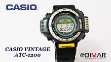 VINTAGE ORIGINAL CASIO ATC-1200 QW.1170 JAPAN AÑO.1994 TRIPLE SENSOR WR.100