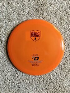 NEW Discmania S-Line TD 175g Orange