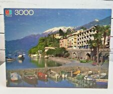 Vintage 1985 Ascona, Switzerland Milton Bradley 3000 Pcs Jigsaw Puzzle RARE NEW