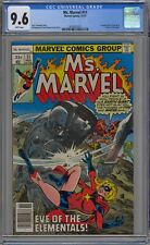 Ms. Marvel #11 CGC 9.6 NM+ Wp 1st Hecate App Marvel Comics 1977 Movie Coming