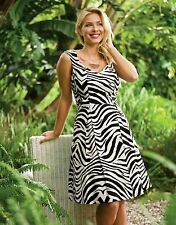 BRAVISSIMO Tamara Prom dress in Zebra Print RRP £59 (67)