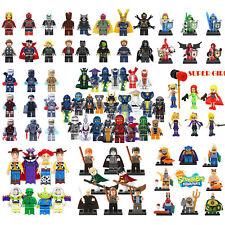 Avengers Ninjago Star Wars MC Princess Mini Figures Building Blocks Toys Gift uk