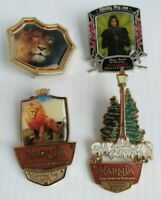Disney Chronicles of Narnia Lion The Witch The Wardrobe & Price Caspian Pin Lot