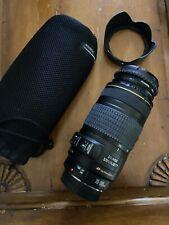 Canon EF 70-300mm IS USM Lens EXCELLENT IMAGE STABILIZER EOS DIGITAL + BONUS UV