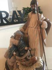LladrÓ A King Is Born 12198 Jesus Mary & Joseph Mint Condition w/Box Fast Ship!