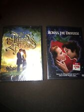 2 New Sealed Dvds Across the Universe & The Princess Bride