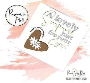 Valentines Surprise Trip Card. Gift Reveal Secret Valentine Holiday Weekend Away