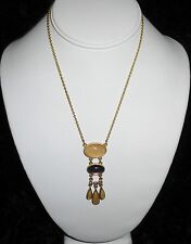 Lia Sophia Misty Rose Lavaliere Necklace w/ Cut Crystals