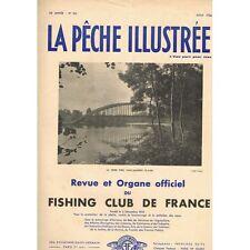 La PÊCHE ILLUSTRÉE Fishing-Club Lancer léger & lourd Chevesne Carpe Ablette 1936