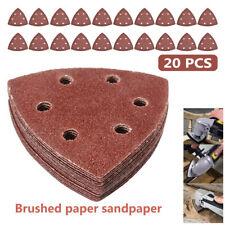 20PCS Sanding Discs Paper Delta Sander Pad For Fein Bosch Oscillating Tool Set